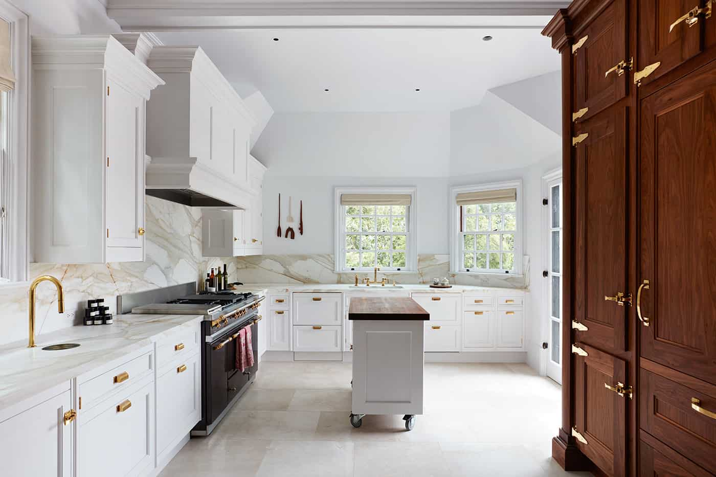 marble kitchen remodel in Pinecrest