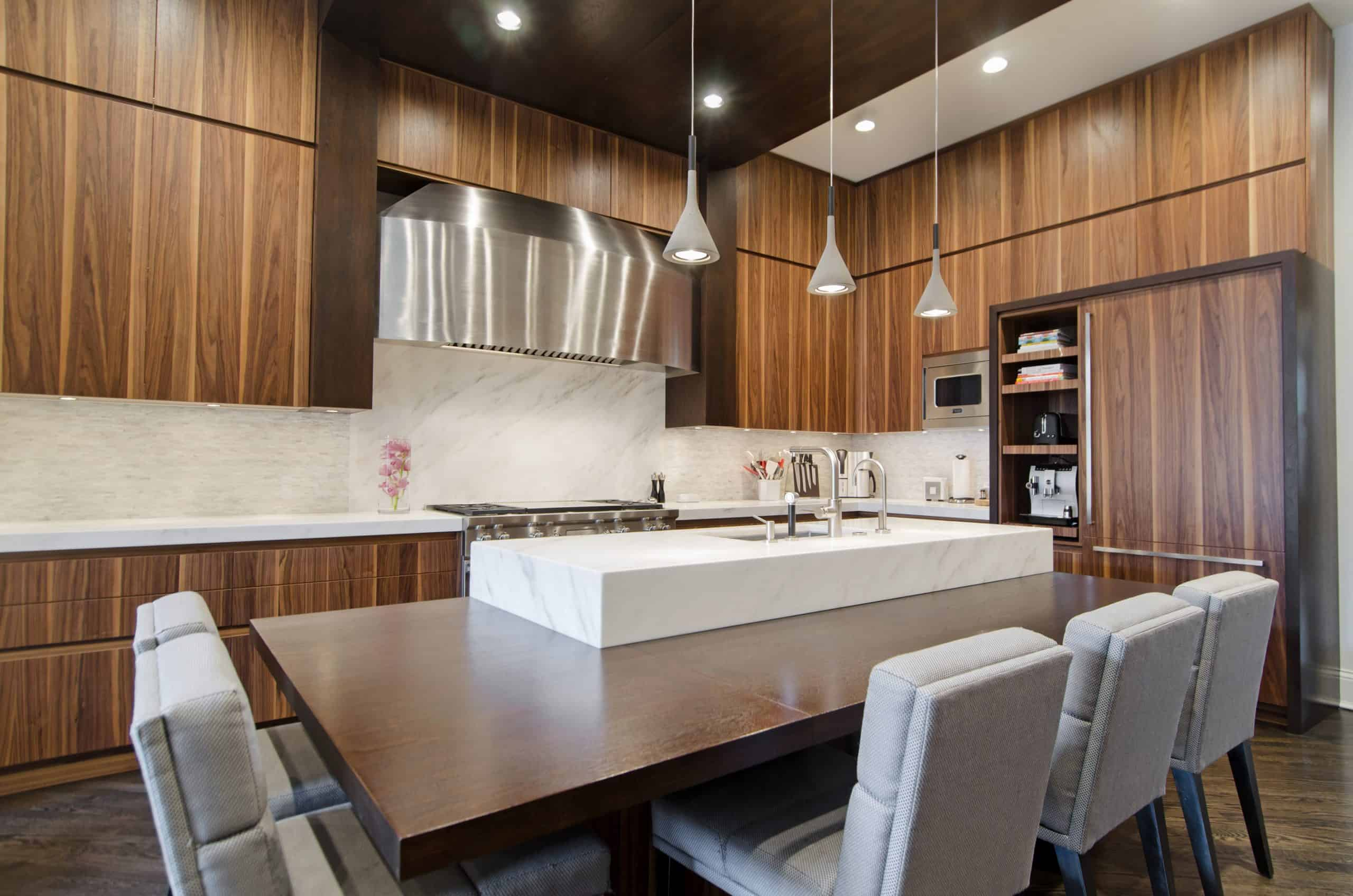 Walnut Kitchen Renovation in Pinecrest