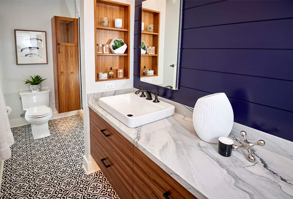 bathroom-design-purple-wall