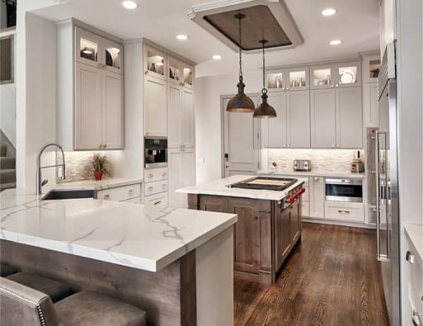 Miami Kitchen Remodel with Marble Countertops