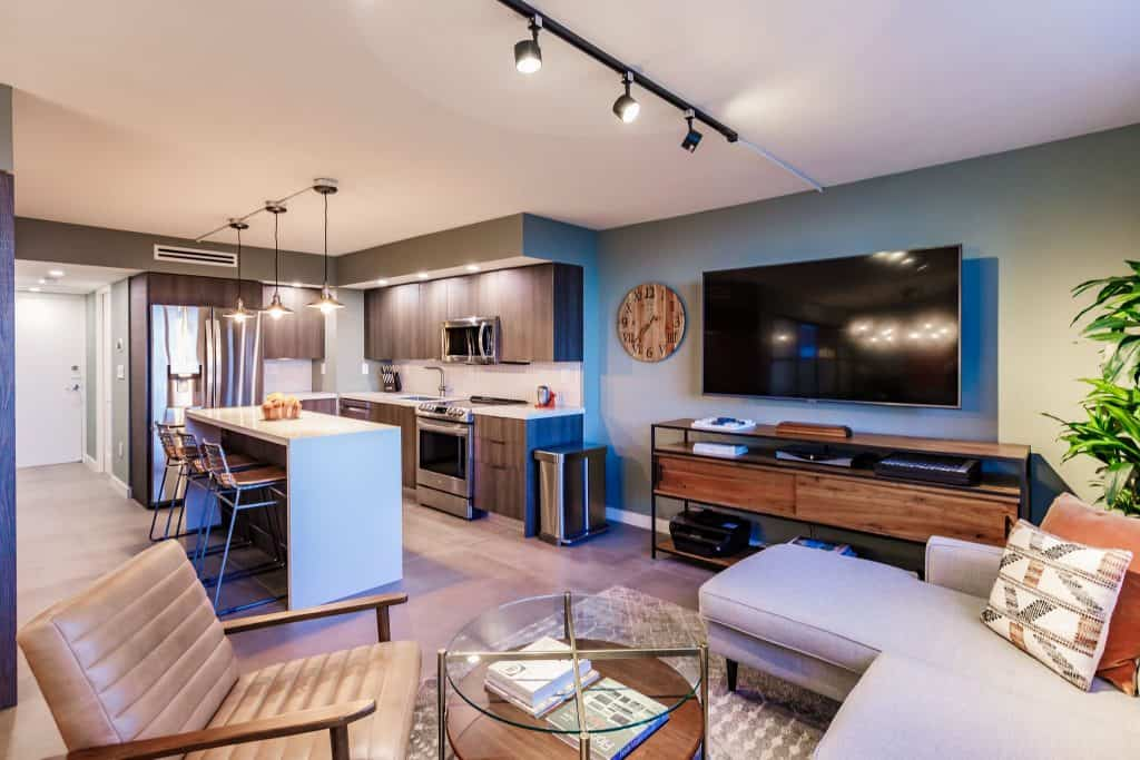 Condo Remodeling in South Miami with Open Concept Kitchen