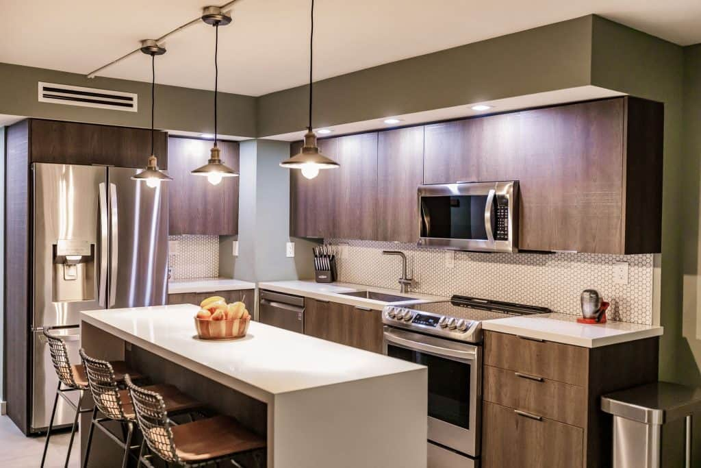 Condo Remodeling in South Miami with Italian Cabinets and Quartz Counters