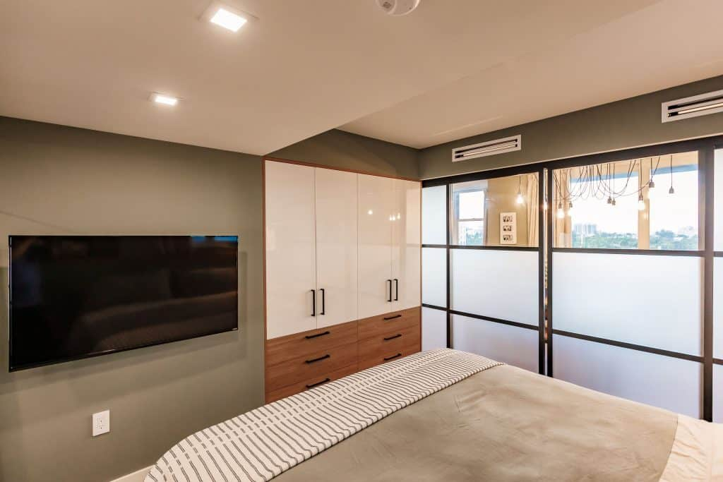Condo Remodeling in South Miami with Built In Closets